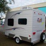 Mini Micro Travel Trailer Just