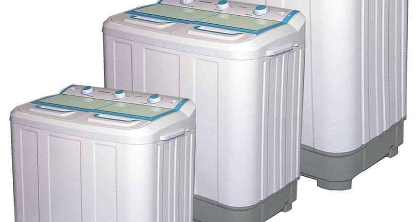 Mini Twin Tub Washing Machine Spinner Dryer Portable