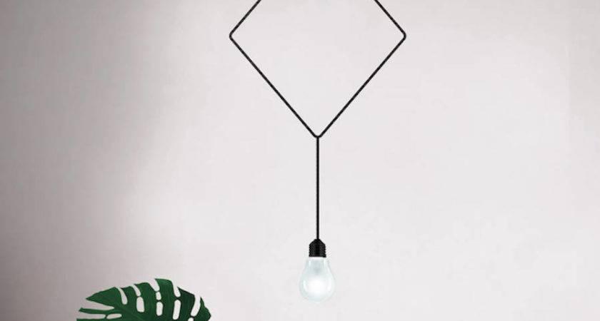 Minimalistic Sculptural Pendant Lamps Fubiz Media