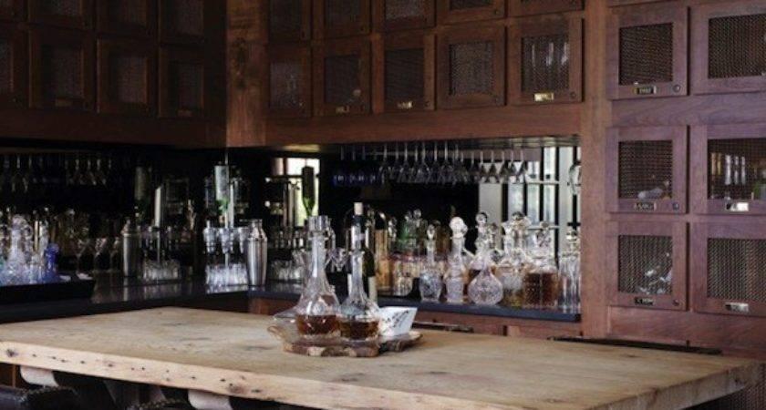 Mirrored Backsplash Eclectic Kitchen York House