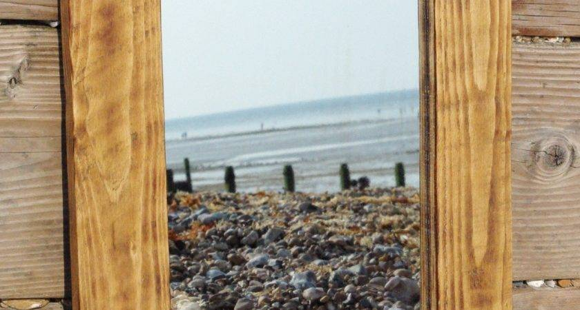 Mirrors Made Reclaimed Wood Available Order