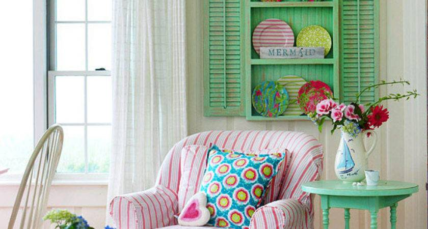 Mix Chic Cottage Style Decorating Ideas