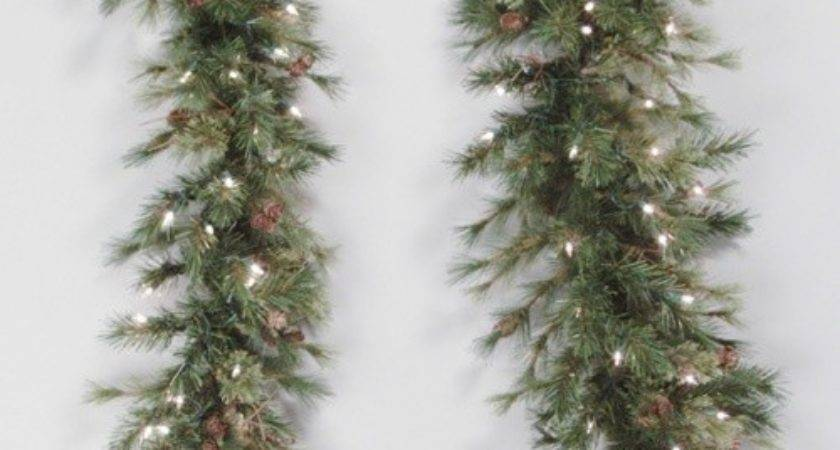 Mixed Country Pine Unlit Swag Garland Christmas