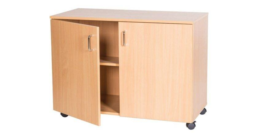 Mobile Cupboard Bookcases Shelving Library