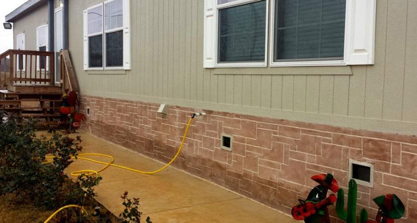 Mobile Home Brick Stone Homes Ideas