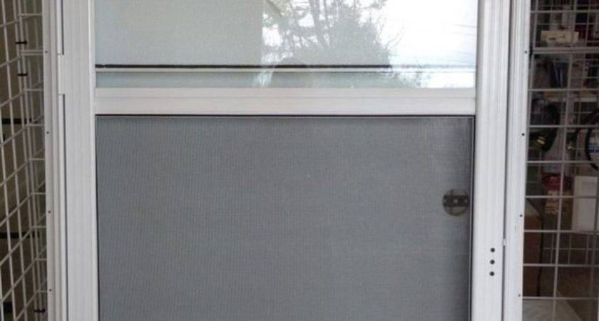 Mobile Home Combination Exterior Doors Steel Solid