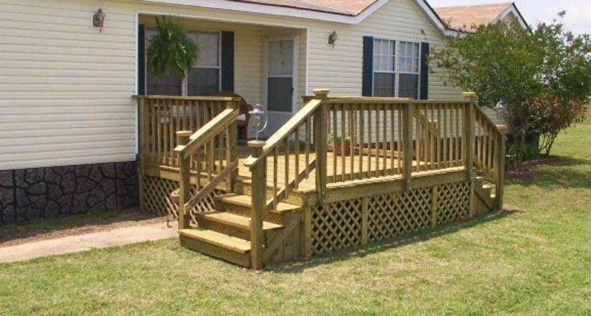 Mobile Home Deck Kits Projects Try Pinterest
