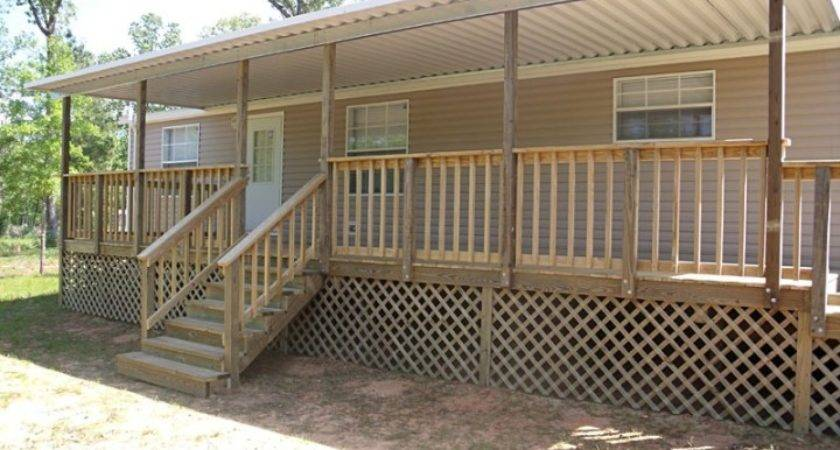 Mobile Home Deck Newsonair