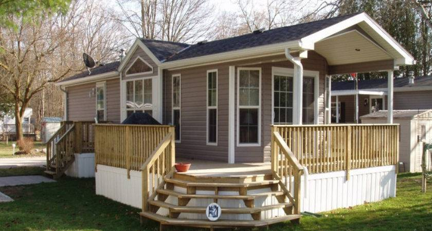 Mobile Home Deck Plans Style
