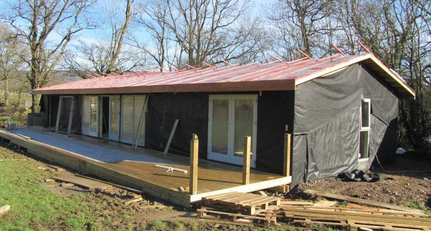 Mobile Home Dorking Rustic Barn Style