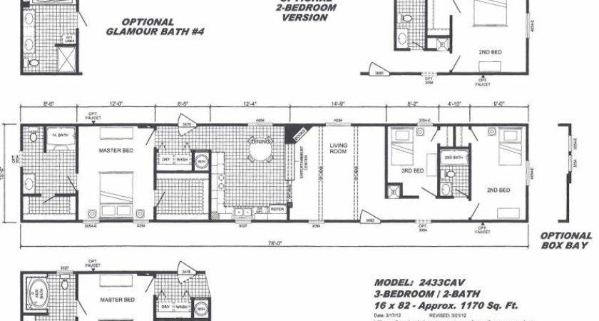 Mobile Home Floor Plans Cavareno Improvment