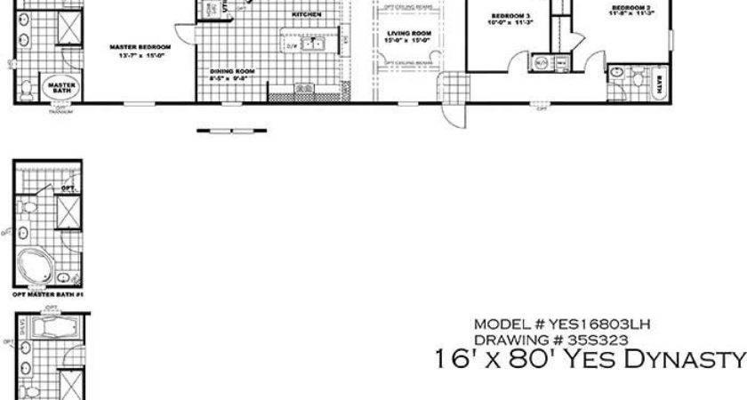 Mobile Home Floor Plans Elegant Clayton Yes Series