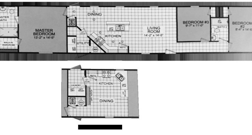 Mobile Home Floor Plans Flora Sqft