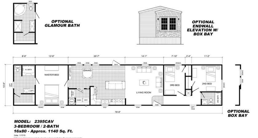 Mobile Home Floor Plans Fresh Homes
