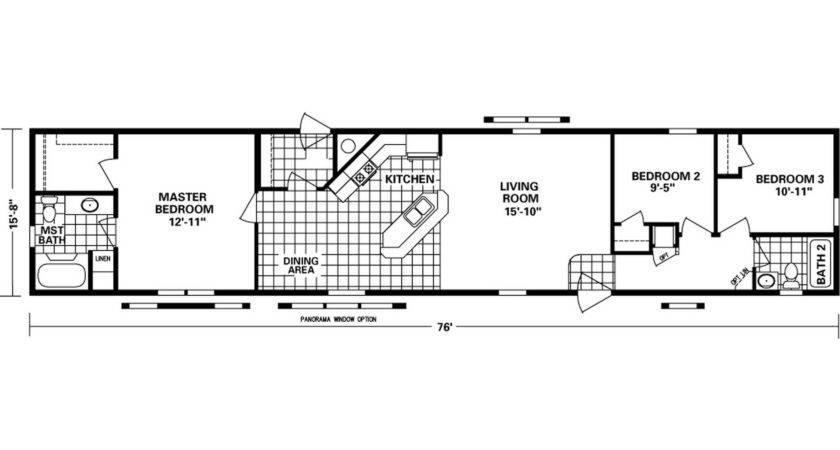 Mobile Home Floor Plans Lovely