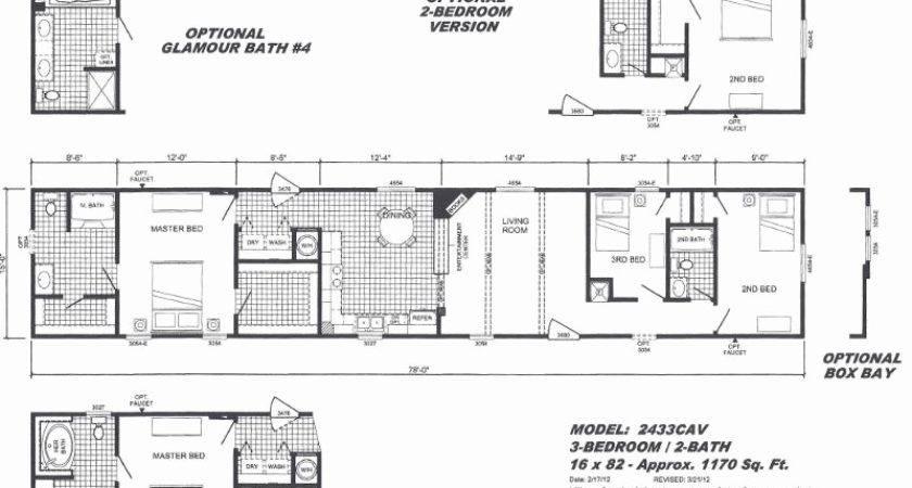 Mobile Home Floor Plans Luxury Clayton Yes Series