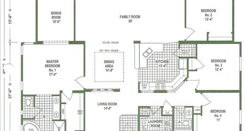 Mobile Home Floor Plans Triple Wide Homes Ideas