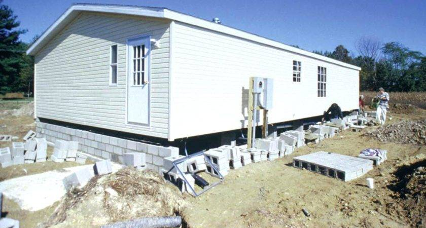 Mobile Home Foundation Design Homemade Ftempo