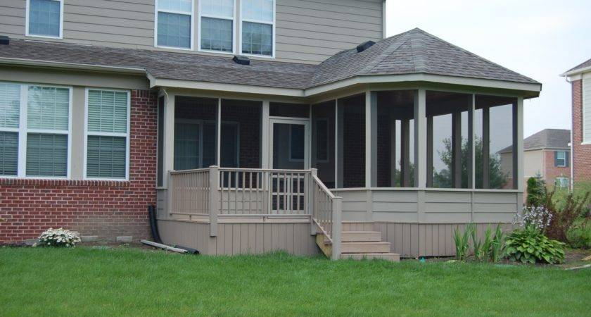 Mobile Home Front Porch Addition