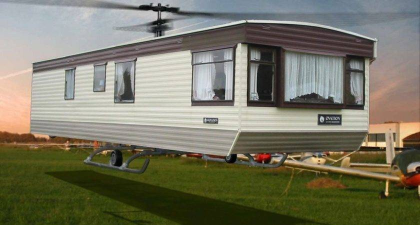 Mobile Home Helicopter Freaking News