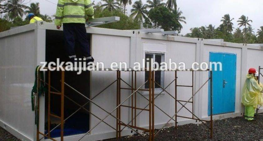 Mobile Home House Frame Flat Pack Container