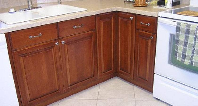 Mobile Home Kitchen Made Out Maple Cabinets Alder