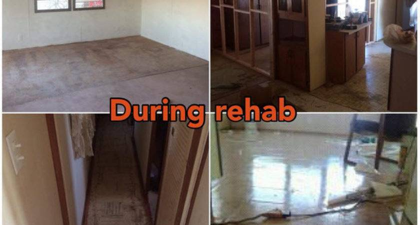 Mobile Home Makeover Before After Rehab
