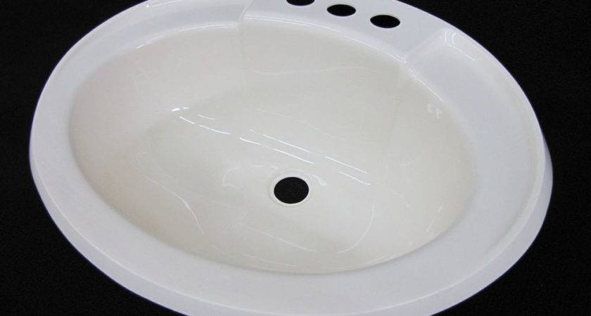 Mobile Home Marine Parts Bathroom Lav Sink Bone