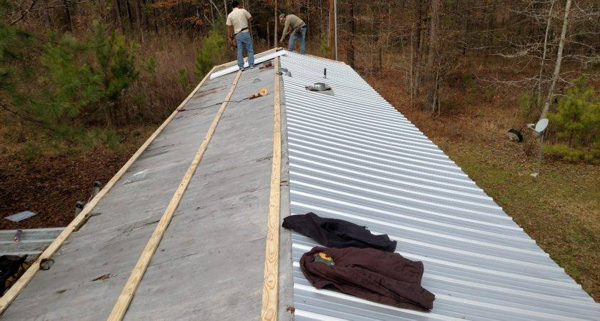 Mobile Home Metal Roof Design Ideas