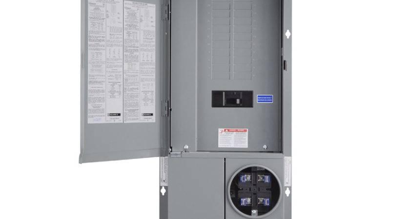 Mobile Home Meter Breaker Box Wiring Diagram