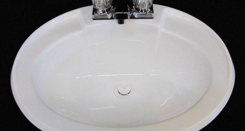 Mobile Home Parts Bathroom Lav Sink Faucet Drain