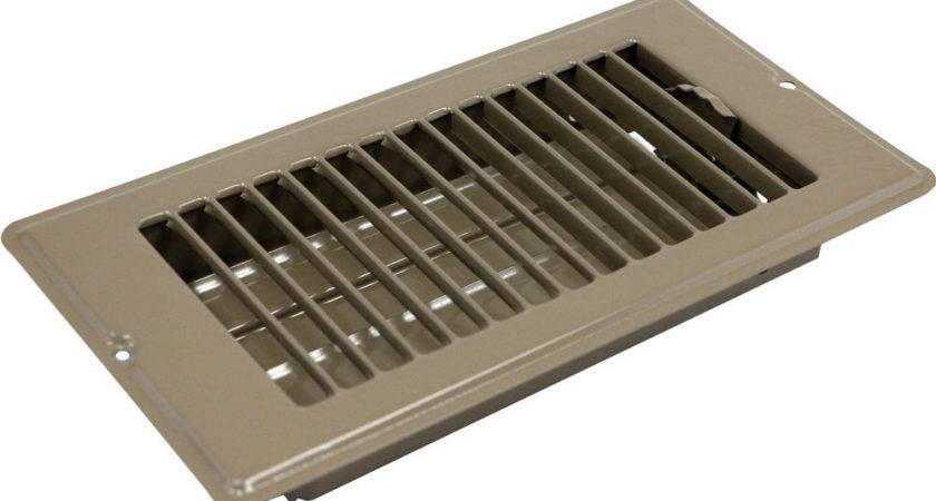 Mobile Home Parts Floor Register Brown Metal