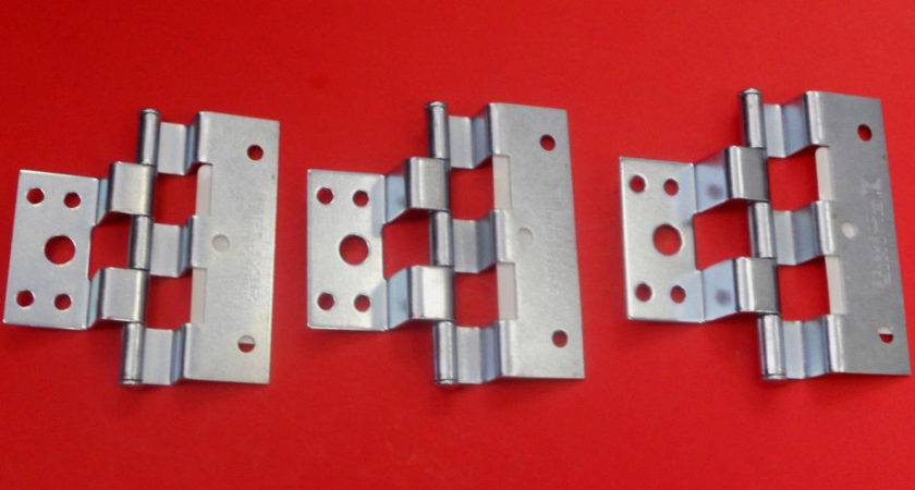 Mobile Home Parts Silver Combination Combo Door Hinges Lot