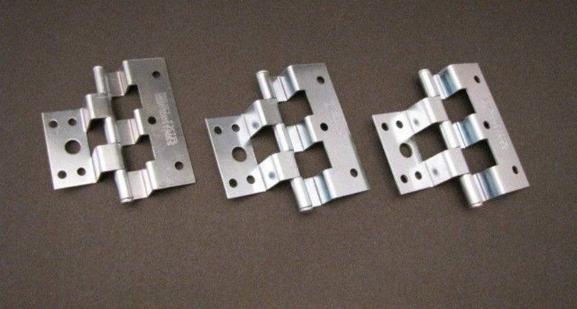 Mobile Home Parts Silver Combination Door Hinges Per
