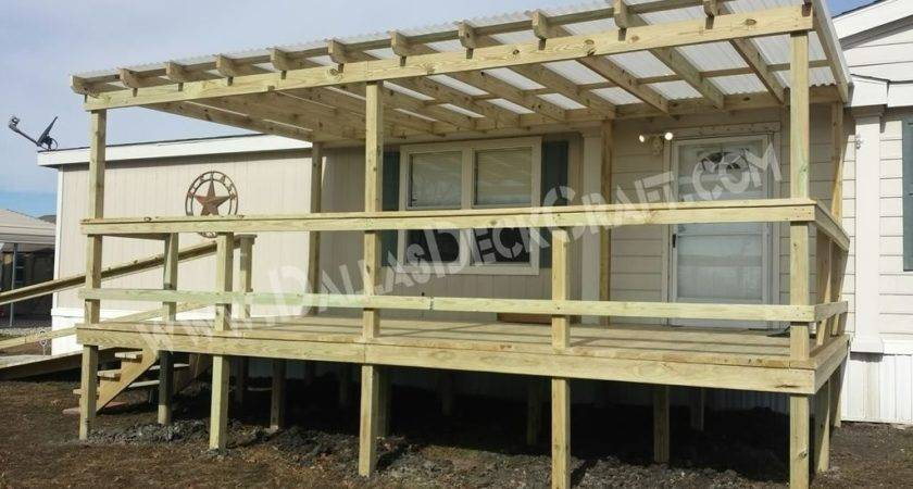 Mobile Home Plans Porches