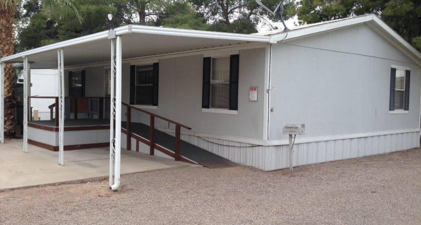 Mobile Home Porch Ramp