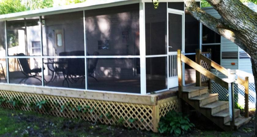 Mobile Home Porch Screen