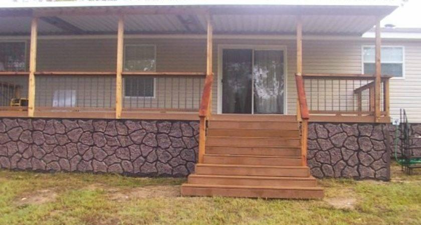 Mobile Home Porches Decks Ideas Bestofhouse