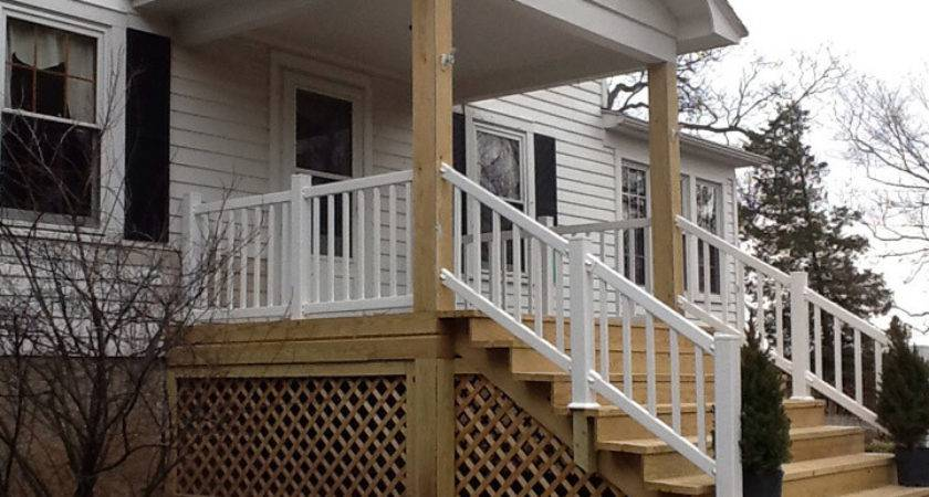 Mobile Home Porches Stairs Homes Ideas