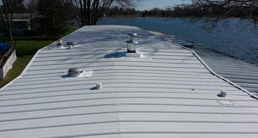 Mobile Home Roof Coating Acrylic Latex Elastomeric