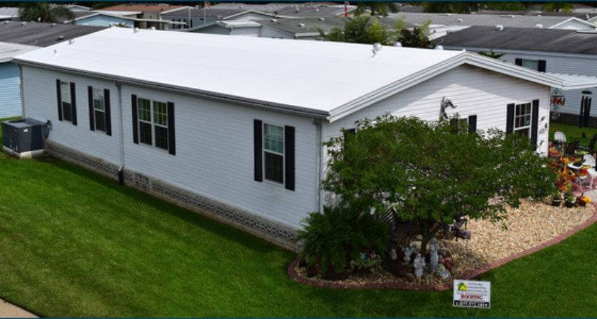 Mobile Home Roof Repair Leak