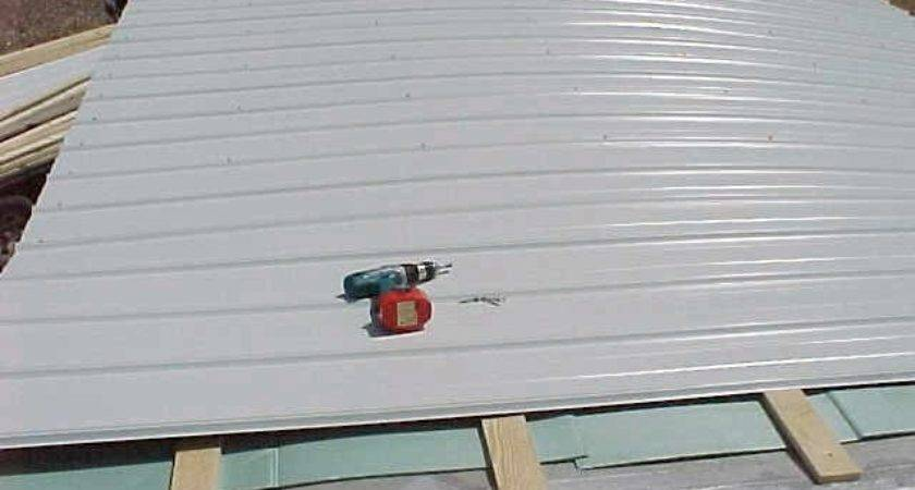 Mobile Home Roof Replacement During Install Wonderful