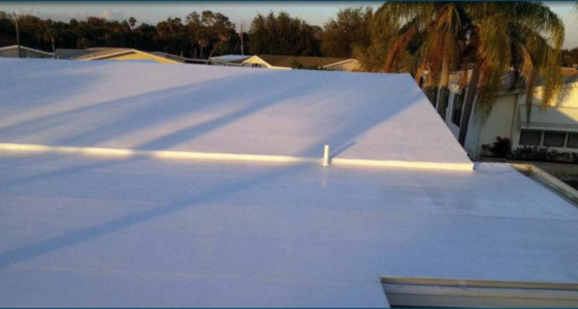 Mobile Home Roofing Roof Rubber