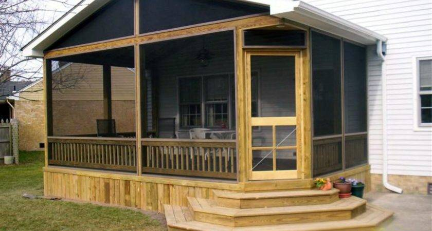 Mobile Home Screened Porch