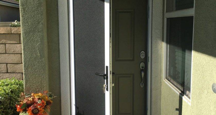 Mobile Home Security Doors