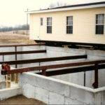 Mobile Home Set Construction