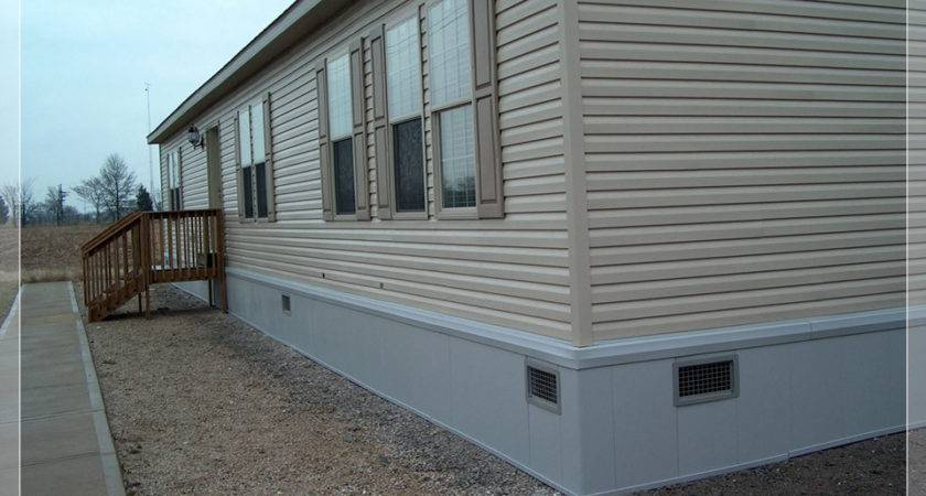 Mobile Home Skirting Installation Bestofhouse