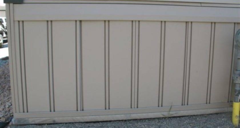 Mobile Home Skirting Underpinning Vinyl Box Panels