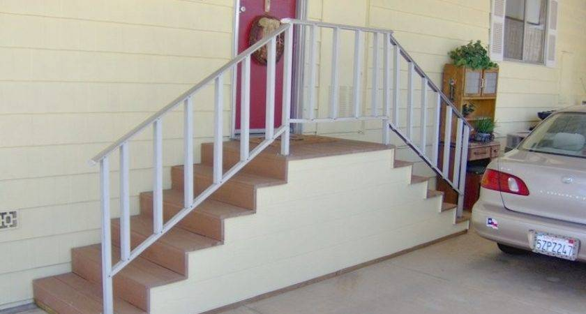 Mobile Home Stairs Kits Design