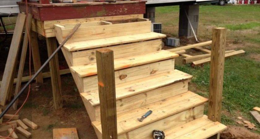 Mobile Home Steps Diy Guide Building Stairs Your
